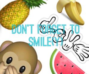 banana, monkey, and pineapple image