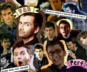 Collage, david tennant, and doctor who image