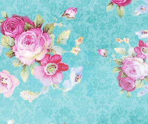 floral, wallpaper, and background image