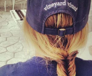 hair, blonde, and Patagonia image