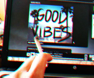 chill, weed, and music image