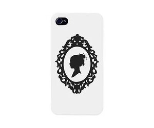 accessories, black and white, and phone cases image