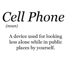 cell phone and definition image