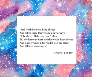 always, song, and stars image