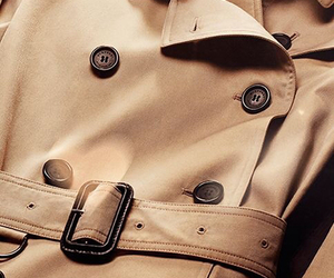 Burberry and trench coat image
