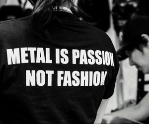 metal, passion, and black image