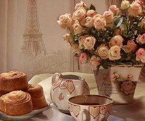 coffee, paris, and pastry image