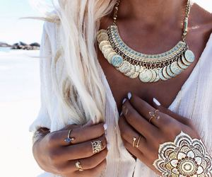 fashion, summer, and jewelry image