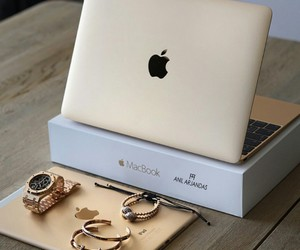 apple, lux, and mac book image