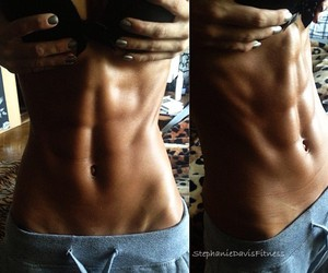 abs, beautiful, and fit image