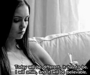 smile, quotes, and the vampire diaries image