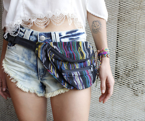 festival, handmade, and fanny pack image