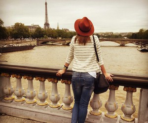 fashion, paris, and red image