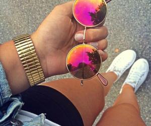 bracelet, summer, and sunglasses image