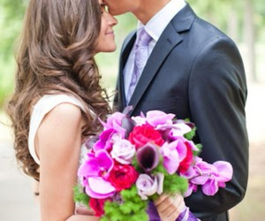 flowers, wedding photography, and love image