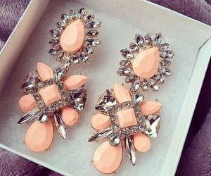 fashion, earrings, and jewelry image