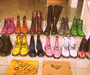 boots, dr martens, and shoes image