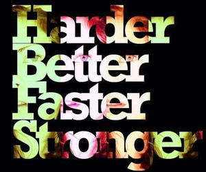 music, Stronger, and better image