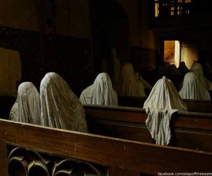 church, ghost, and horror image