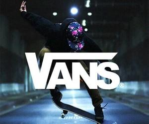 vans, skate, and wallpaper image