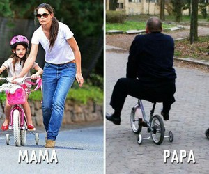 funny, mom, and papa image