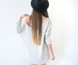 style, girl, and hair image