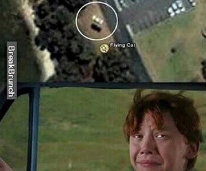 harry potter, funny, and ron weasley image