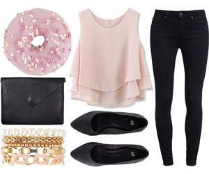 accessories, bag, and donut image