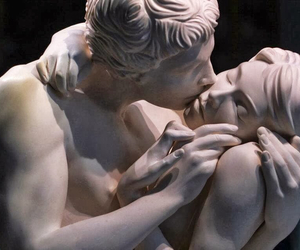 art, kiss, and sculpture image