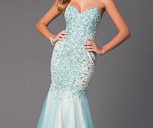 dresses, wedding, and mermaid dresses image