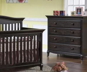 baby, furniture, and cradle image