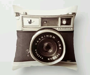 camera, pillow, and vintage image