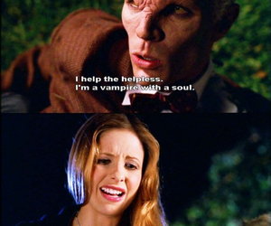 angel, funny, and buffy the vampire slayer image