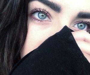 girl, eyes, and grunge image