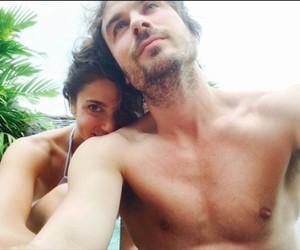 cute couple, selfie, and ian somerhalder image