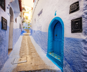 door and morocco image
