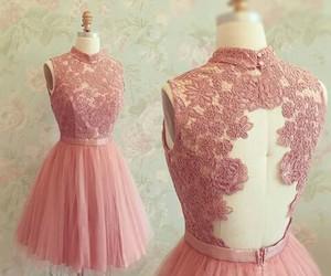 pink dress image