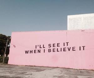pink, aesthetic, and believe image