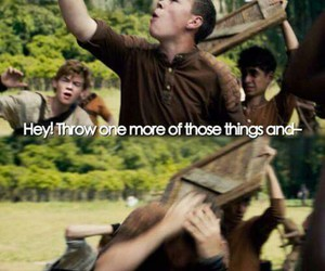 gally, newt, and the maze runner image