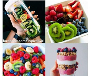 breakfast, delicious, and colorful image