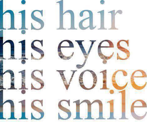 love, smile, and eyes image