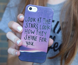 case, stars, and iphone image
