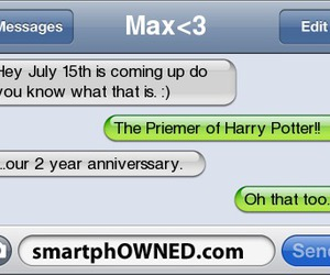harry potter, smartphowned, and 15th july image