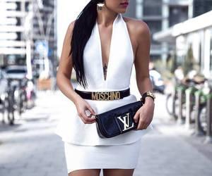 fashion, dress, and Moschino image
