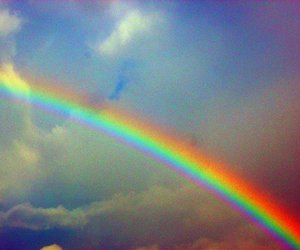 rainbow and sky image