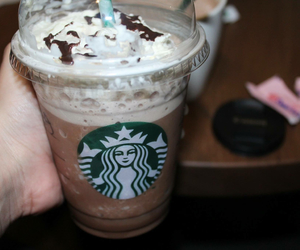 starbucks, canon, and food image