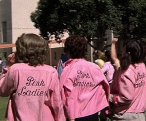 pink, grease, and ladies image