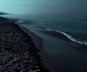 beauty, sky, and dark image