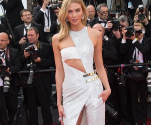 fashion, Karlie Kloss, and red carpet image