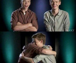 will poulter, the maze runner, and thomas sangster image
